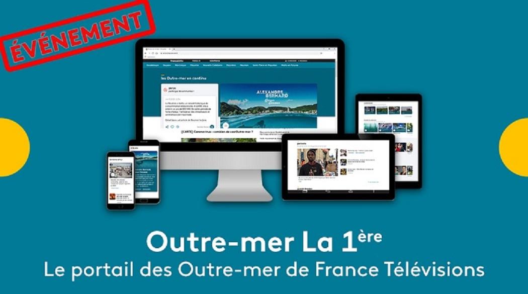 J-14 avant le lancement du portail des Outre-Mer de France Télévisions