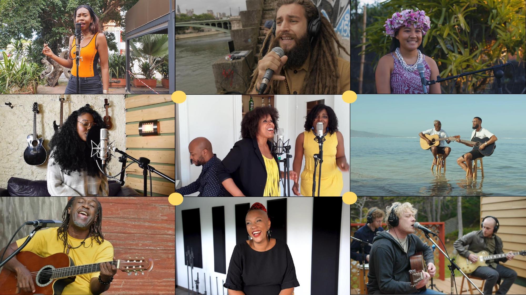 MUSIKADIS: La fête de la musique connectée du Pôle Outre-Mer de France Télévisions