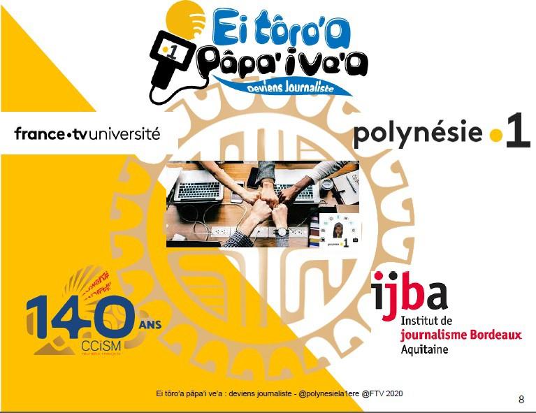Polynésie la 1ère lance un grand casting pour sélectionner des jeunes et les former pendant 2 ans au métier de journaliste