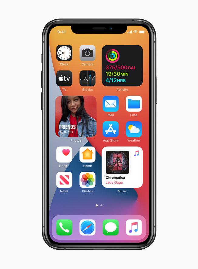 Apple lève le voile sur IOS14