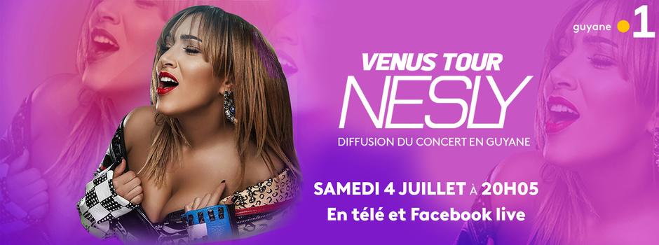 La chanteuse NESLY en concert ce soir sur Guyane La 1ère