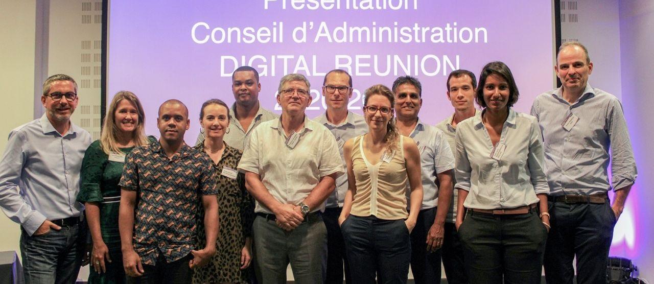 Conseil d'administration de Digital Réunion