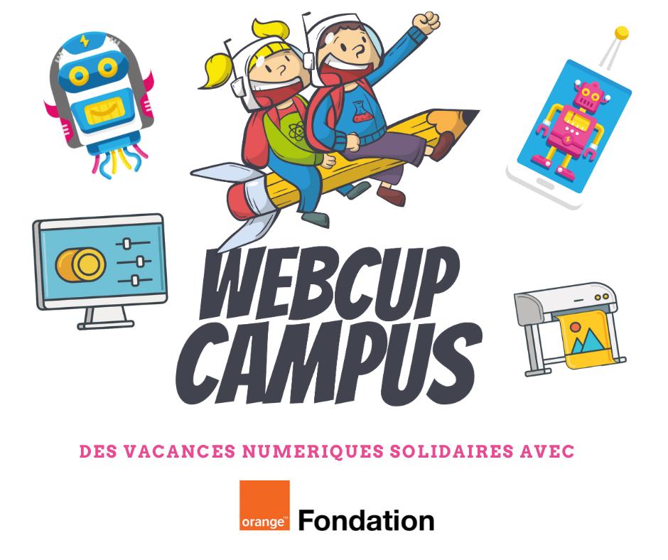 L'association Webcup en partenariat avec la Fondation Orange lance les premières vacances numériques solidaires