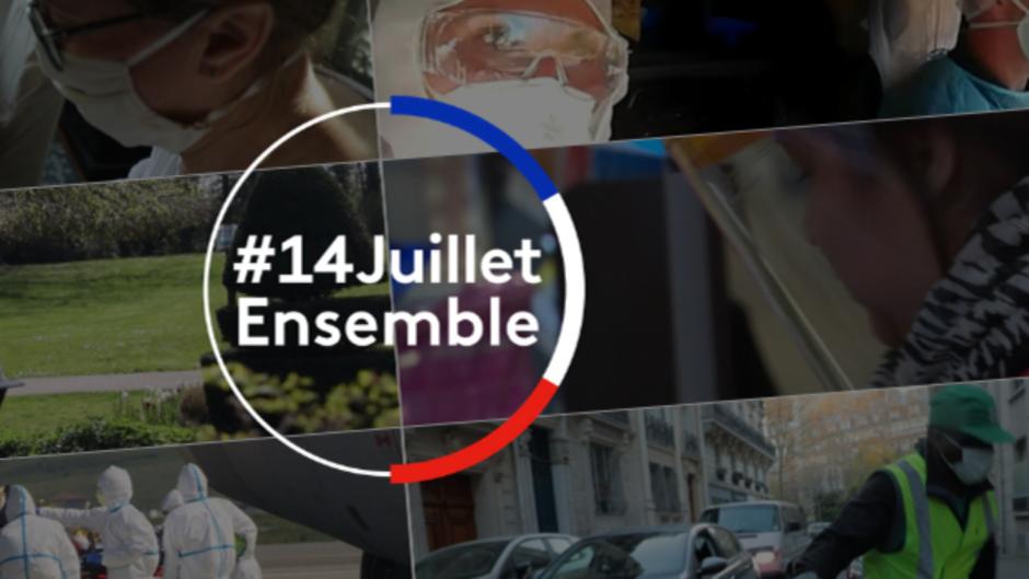 Edition spéciale du 14 juillet sur les chaînes La 1ère et France 2