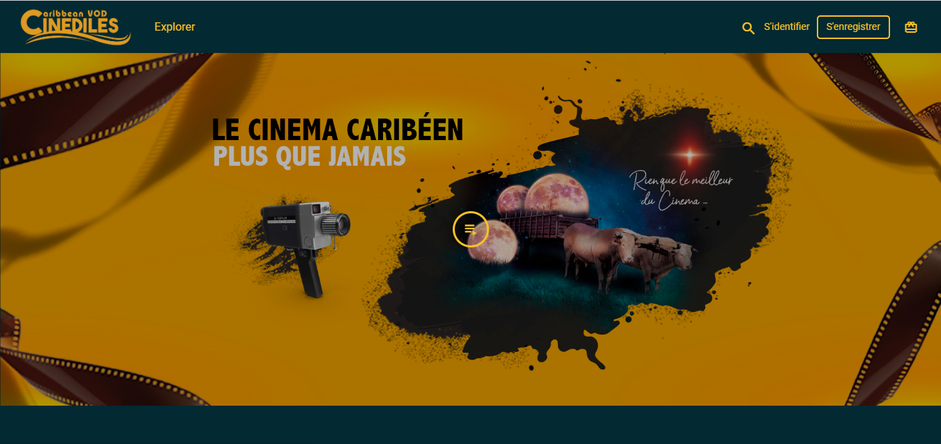 CINEDILES, la première plateforme VOD dédiée au cinéma Caribéenne et Guyanaise
