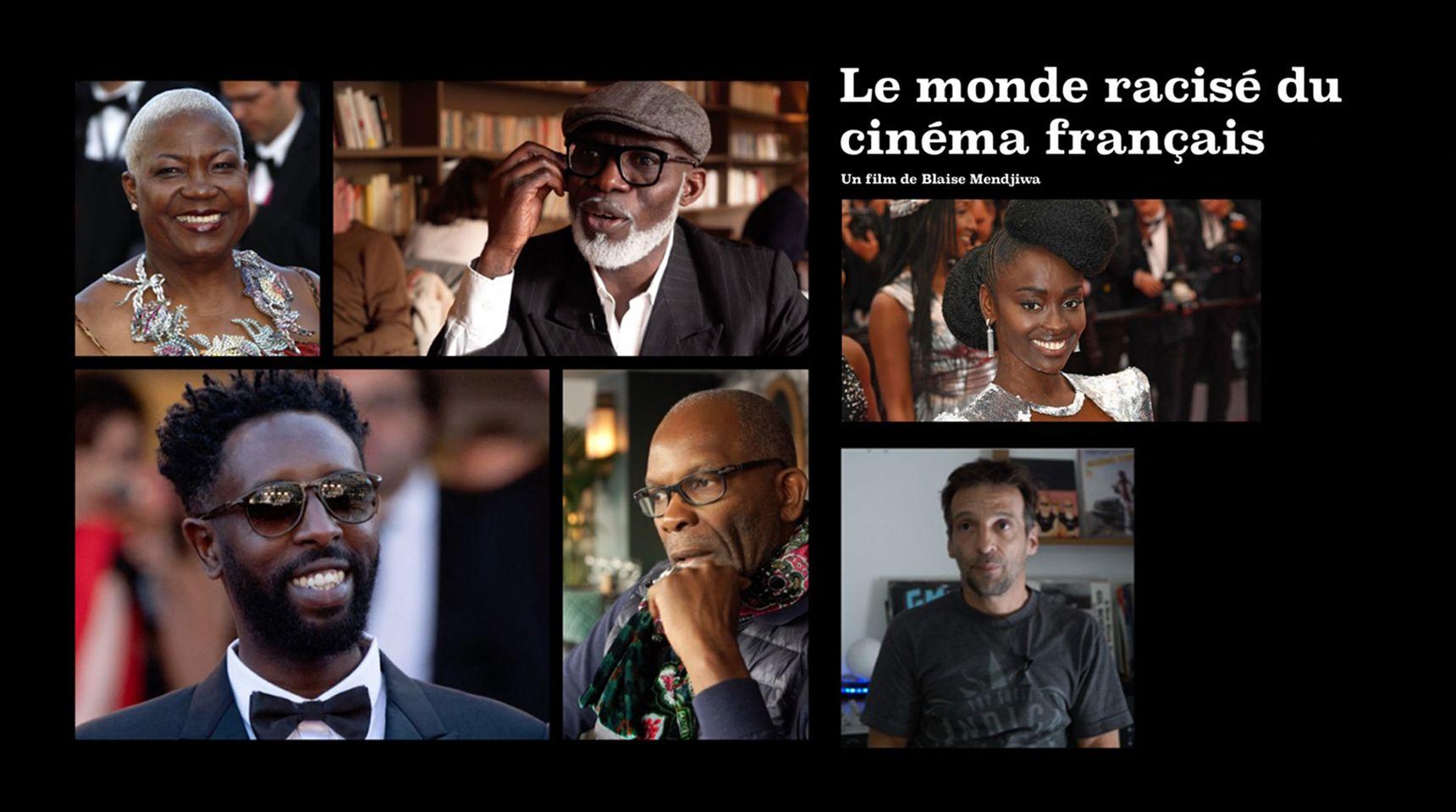 """""""Le monde racisé du cinéma français"""" le documentaire de Blaise Mendjiwa diffusé sur Canal+ le 22 juillet"""