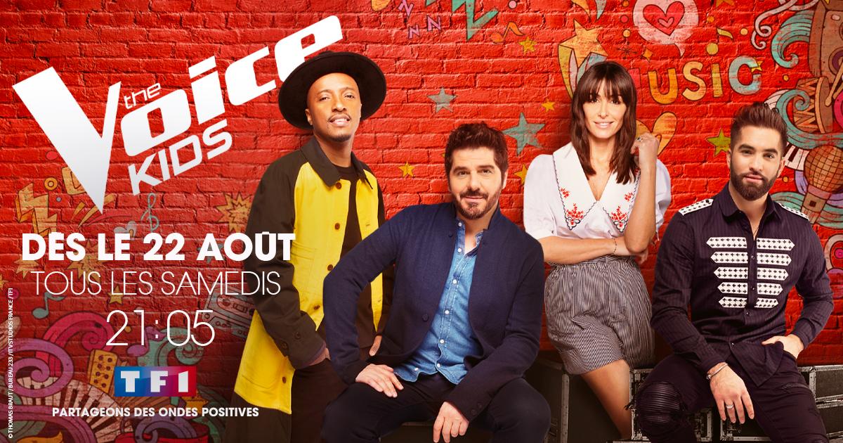"""Evenement ! La nouvelle saison de """"The Voice Kids"""" arrive sur TF1 à partir du 22 août"""
