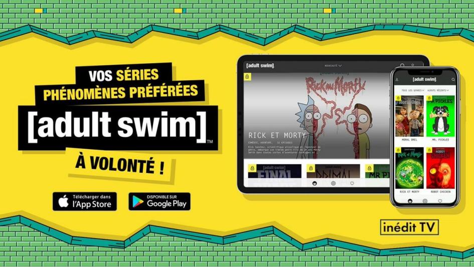 Adult Swim: l'application arrive à la Réunion en avant-première avec Parabole Réunion