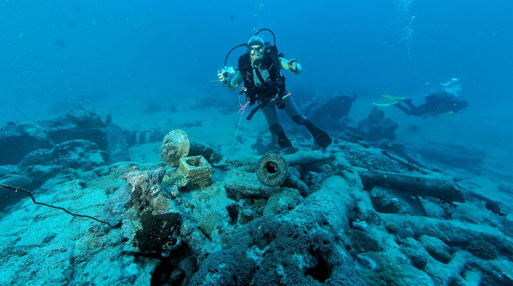 """Plongez à la découverte des trésors sous-marins de Nouvelle-Calédonie dans """"Découvreurs d'épaves Calédoniennes"""" ce jeudi sur Canal+ Calédonie"""