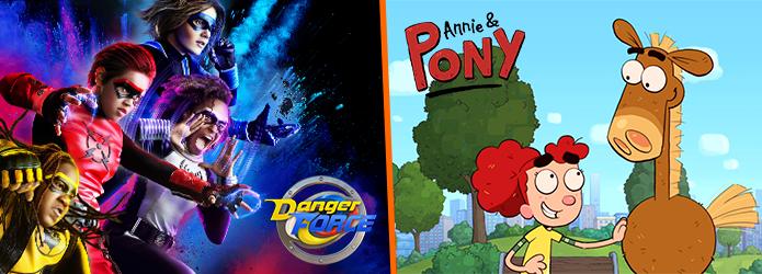 Les séries DANGER FORCE et ANNIE & PONY débarquent en octobre sur NICKELODEON