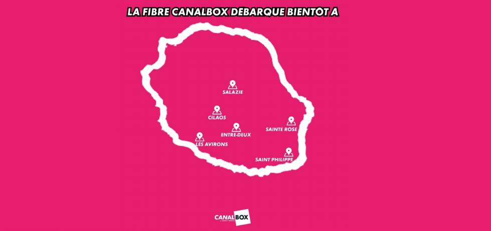 CanalBox Réunion: La fibre arrive bientôt dans 6 nouvelles communes