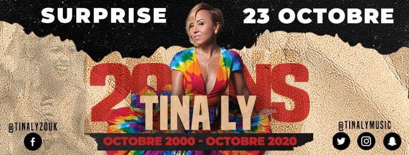 Tina Ly fête ce vendredi ses 20 ans de carrière avec Guyane la 1ère
