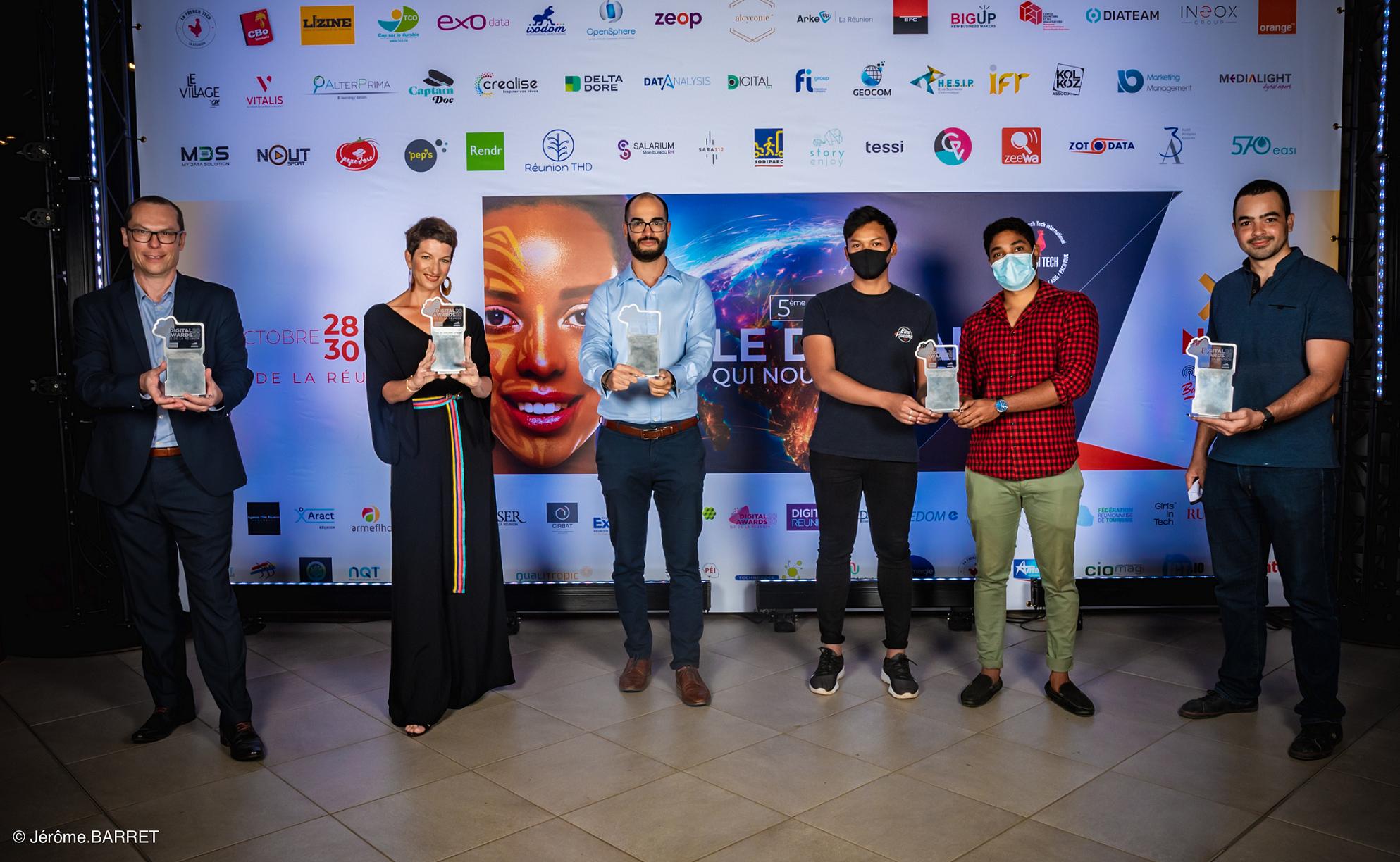 1000 visiteurs pour NxSE 2020 et 6 gagnants pour les 1er Digital Awards de La Réunion