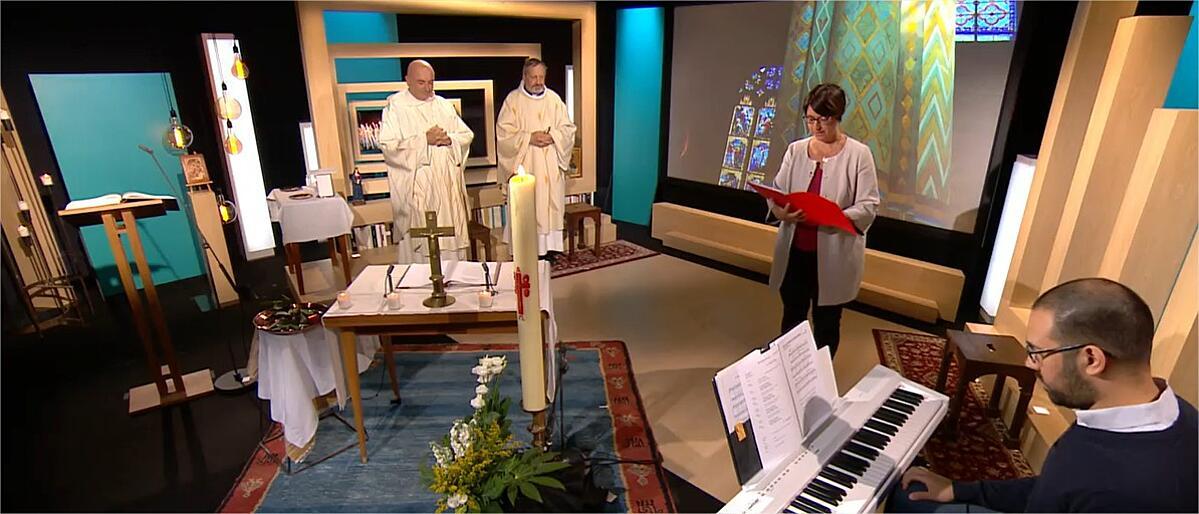 Nouveau confinement : Le Jour du Seigneur reprend les messes en direct du studio du CFRT