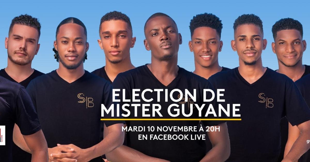 Election de Mister Guyane le 10 novembre sur Guyane la 1ère