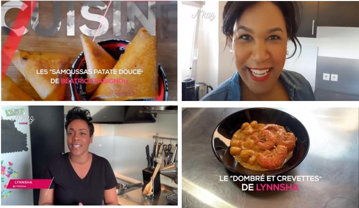 Trace Caribbean: Pleins feux sur CuisineAkaz l'émission qui met en valeur la cuisine caribéenne