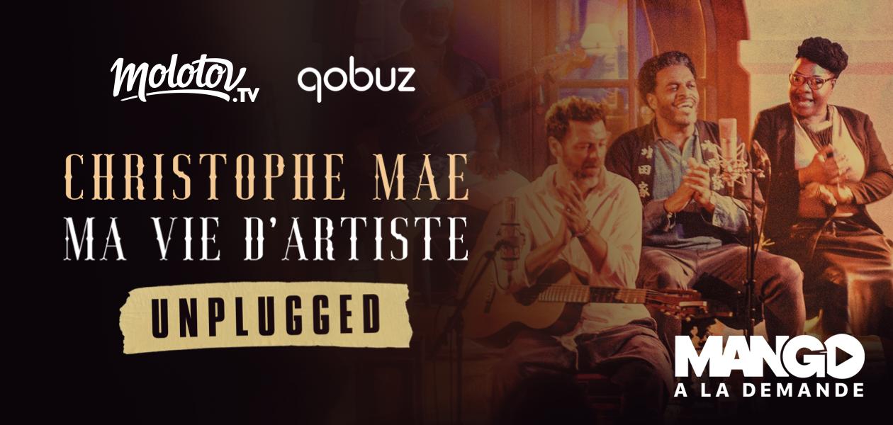 Le concert de Christophe Maé en exclusivité sur Mango, la nouvelle offre de VOD gratuite de Molotov
