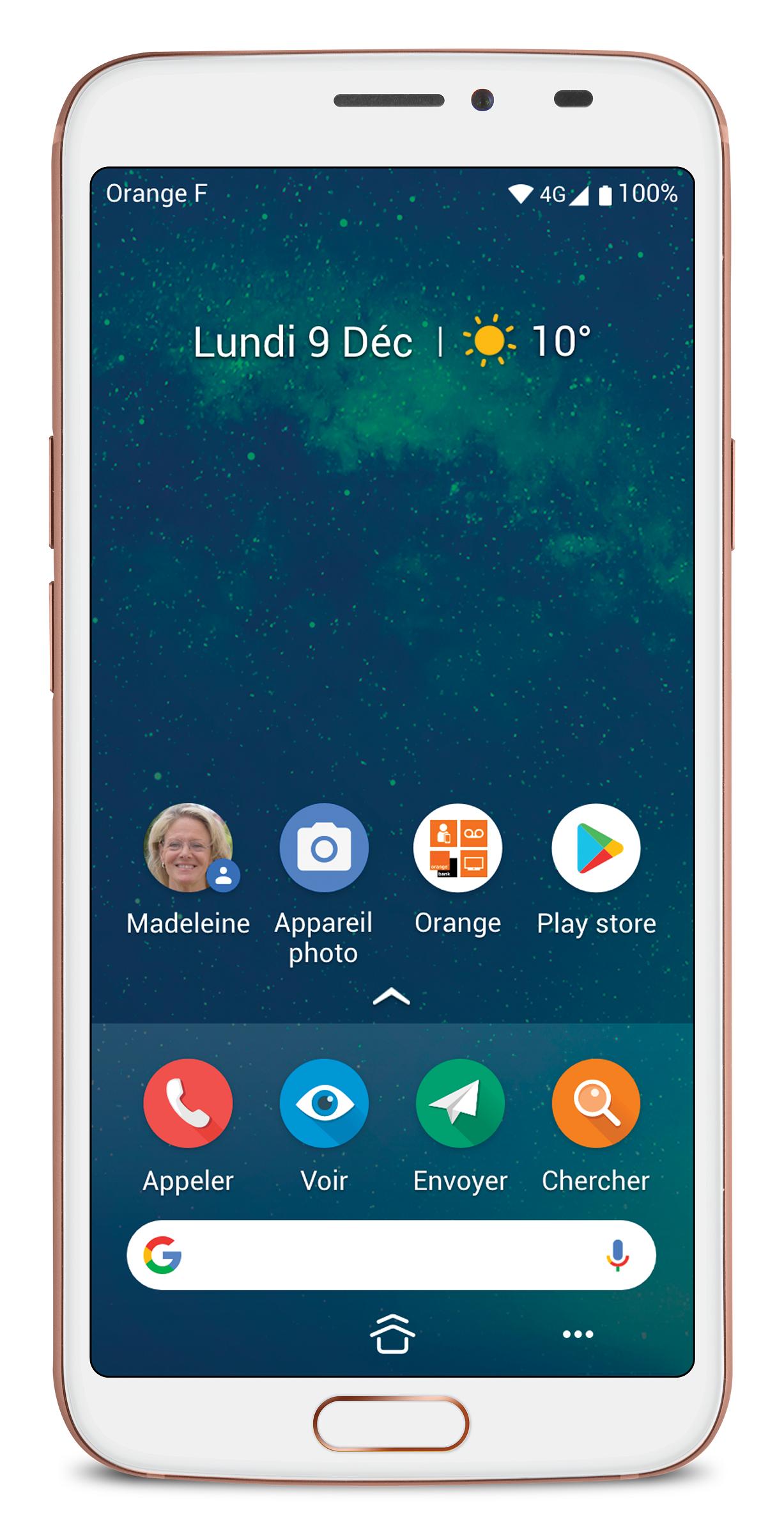Smartphones chics et simples, Doro enrichit sa gamme avec le 8062