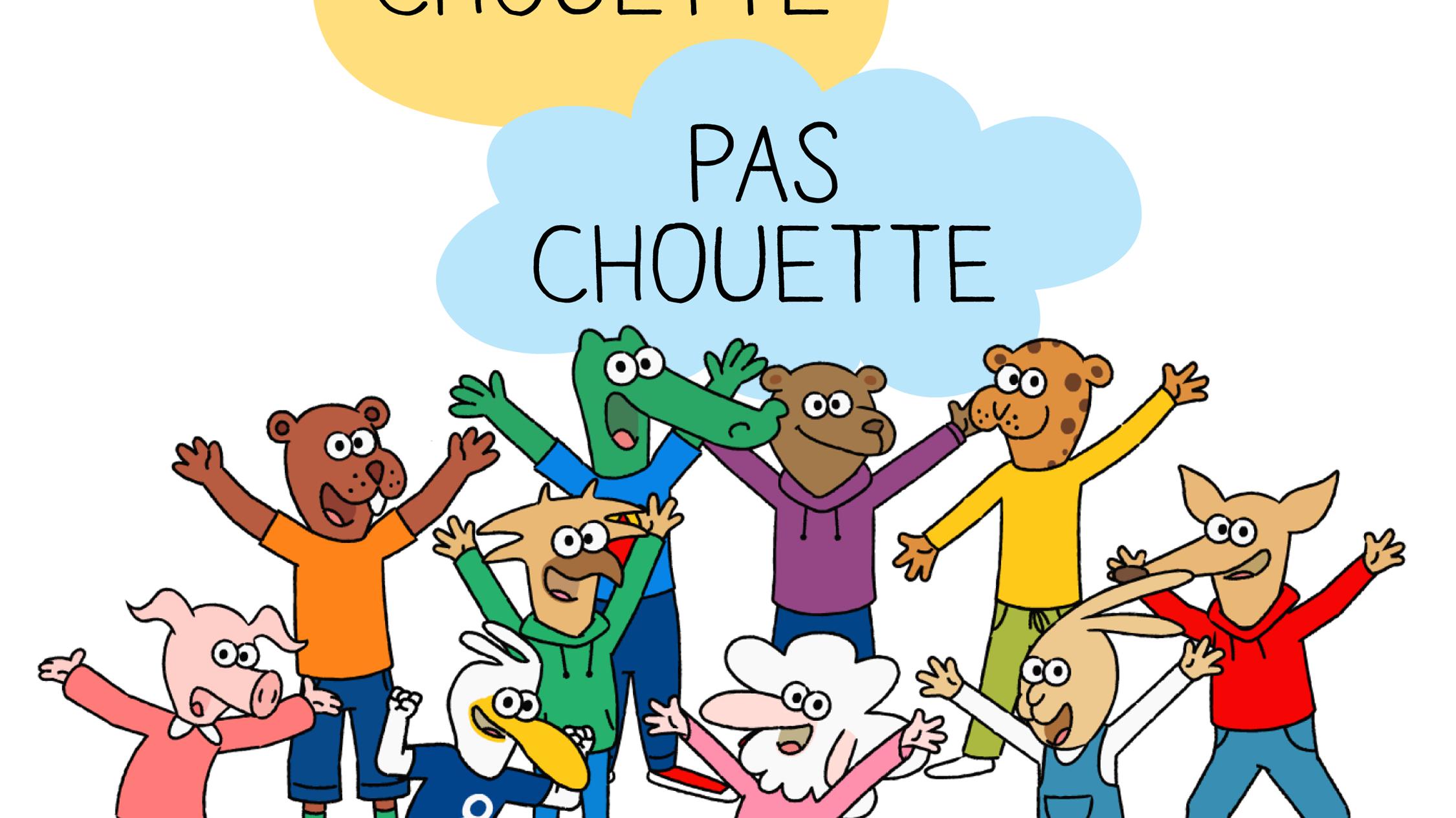 """""""Chouette, pas chouette"""", une série à destination des enfants de 4 à 6 ans pour déconstruire les stéréotypes sexistes"""