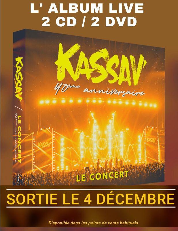 KASSAV': l'album live des 40 ans du groupe, dés demain dans les bacs