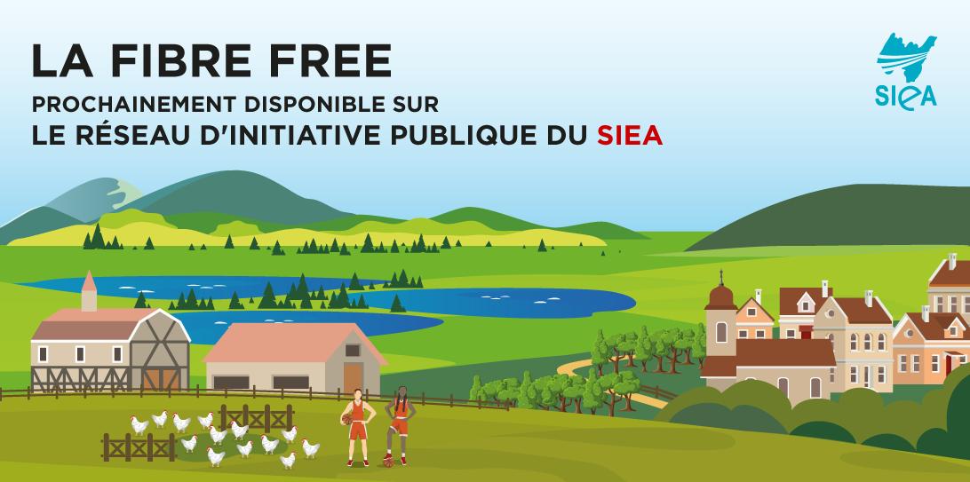 Déploiement de la Fibre Optique dans l'Ain : Free rejoint le réseau public du SIEA en tant qu'opérateur commercial