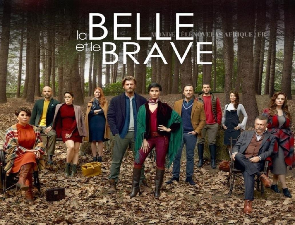 Coup d'envoi dés le 18 janvier de LA BELLE ET LE BRAVE, la nouvelle télénovela de ViàATV