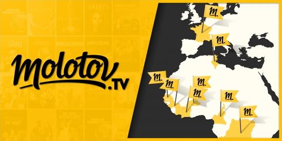 Molotov se déploie à l'international et lance sa plateforme dans 7 nouveaux pays