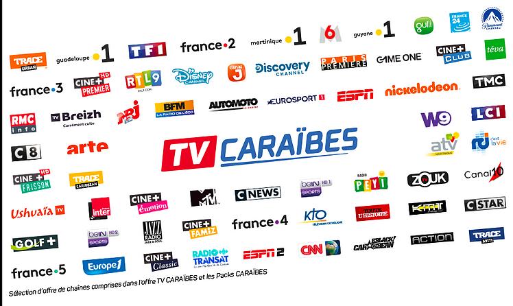 Lancement le 4 février de TV CARAIBES, le nouveau bouquet TV par satellite aux Antilles-Guyane