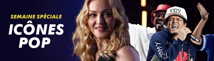 Madonna, Bruno Mars, Lady Gaga...: Semaine spéciale icônes Pop dés le 22 février sur MTV Hits