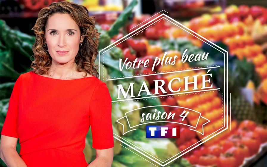 TF1: Marie-Sophie Lacarrau part à la recherche du plus beau marché de France