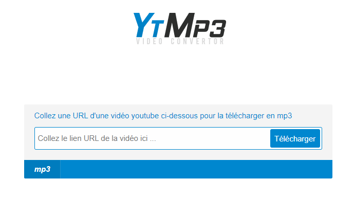 Telecharger en MP3 une video depuis YouTube avec Clickmp3 gratuitement