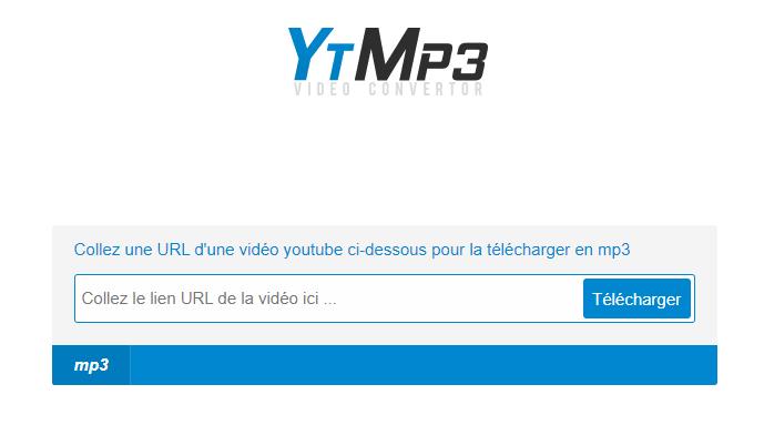 Telecharger en MP3 une video depuis YouTube avec Clickmp3 gratuitement