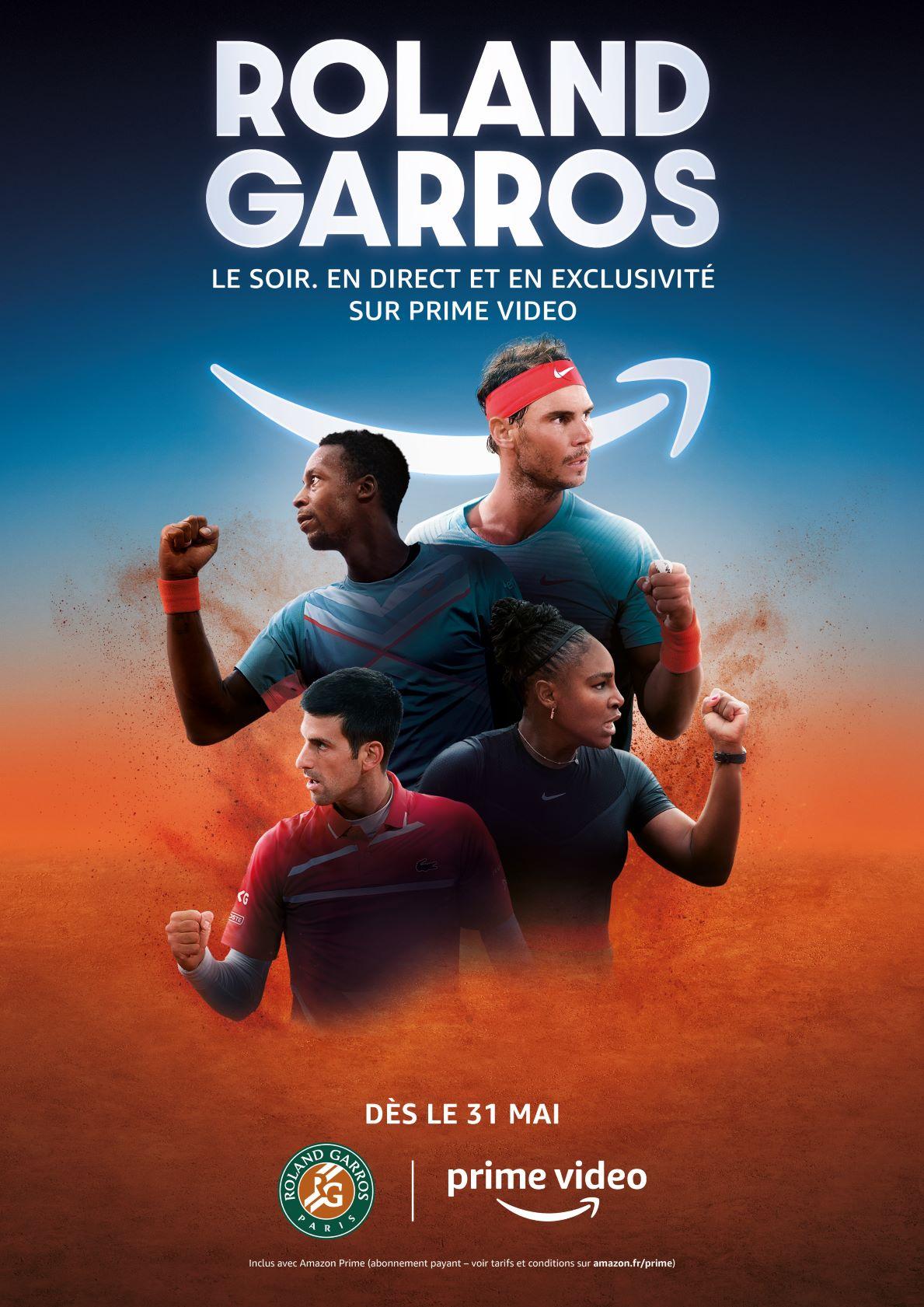 Roland Garros: Prime Vidéo dévoile son dispositif