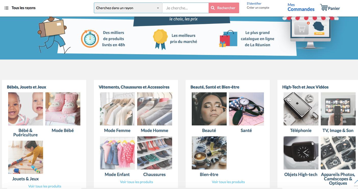 Amazot.re: Une nouvelle solution pour acheter localement sur internet