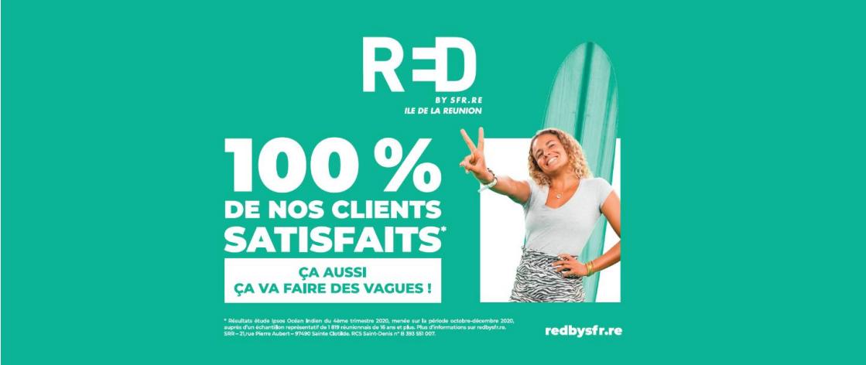 RED by SFR Réunion revoit ses forfaits avec plus de gigas