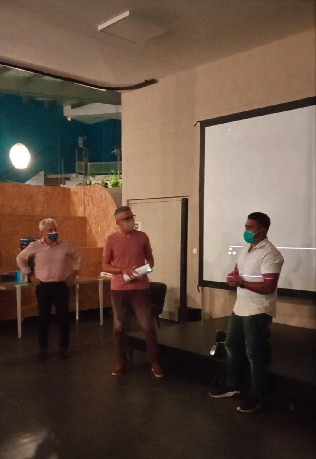 Cérémonie de remise des prix de la Webcup Océan Indien