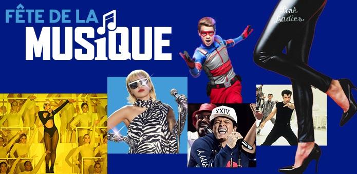 Les chaînes MTV HITS, BET, PARAMOUNT CHANNEL, NICKELODEON fêtent la musique