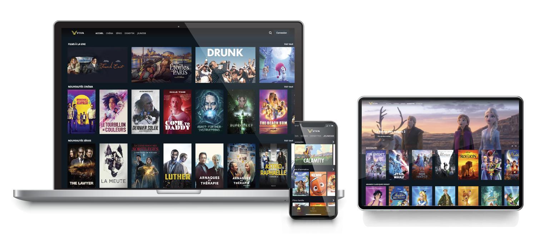 VIDEOFUTUR lance VIVA sa nouvelle plateforme VOD 100% streaming sans abonnement et sans engagement