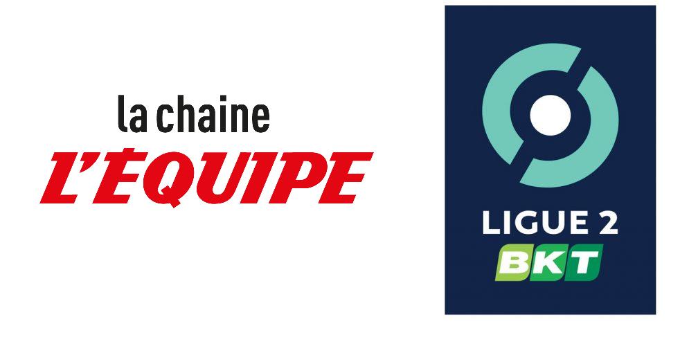 Ligue 2: La chaine L'Équipe, nouveau diffuseur du multiplex