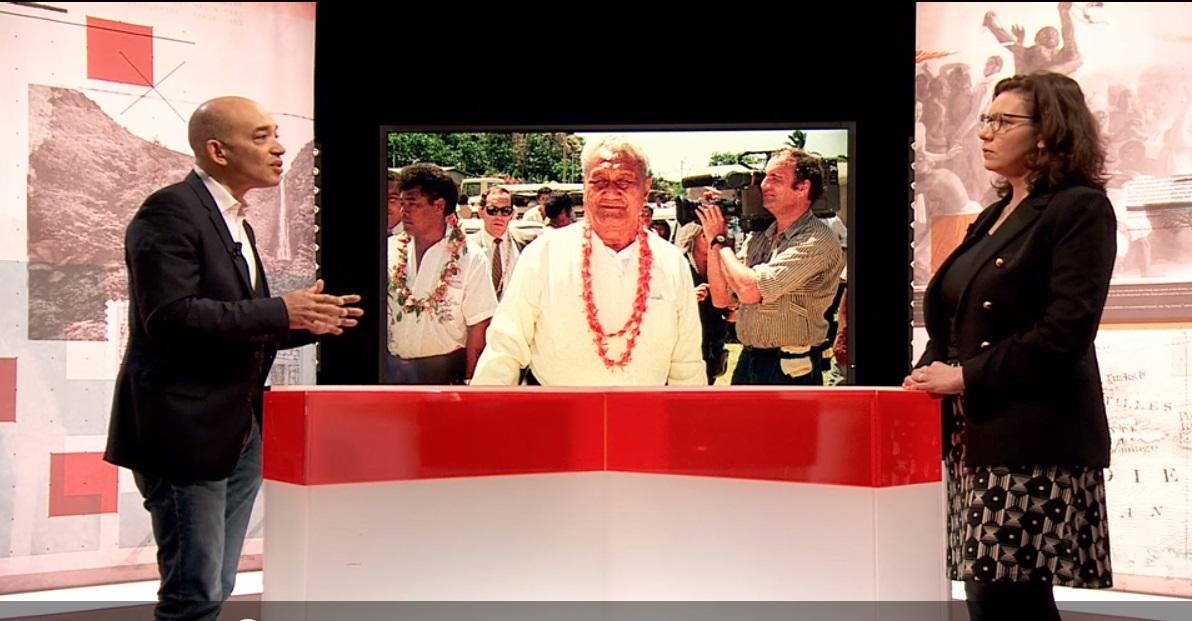 """Les 60 ans du statut de territoire d'Outre-Mer de Wallis et Futuna au programme de """"La grande scène de l'histoire"""" ce lundi sur le Portail Outre-Mer La 1ère"""