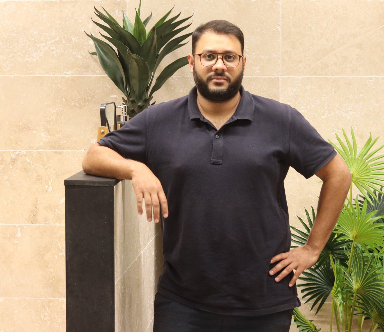 Ridwan Ravate, responsable de l'enseigne R'Concept