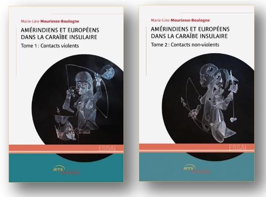L'auteure M.L. Mouriesse-Boulogne publie un essai sur la rencontre entre Amérindiens de la Caraïbe insulaire et Européens aux Éditions Jets d'Encre
