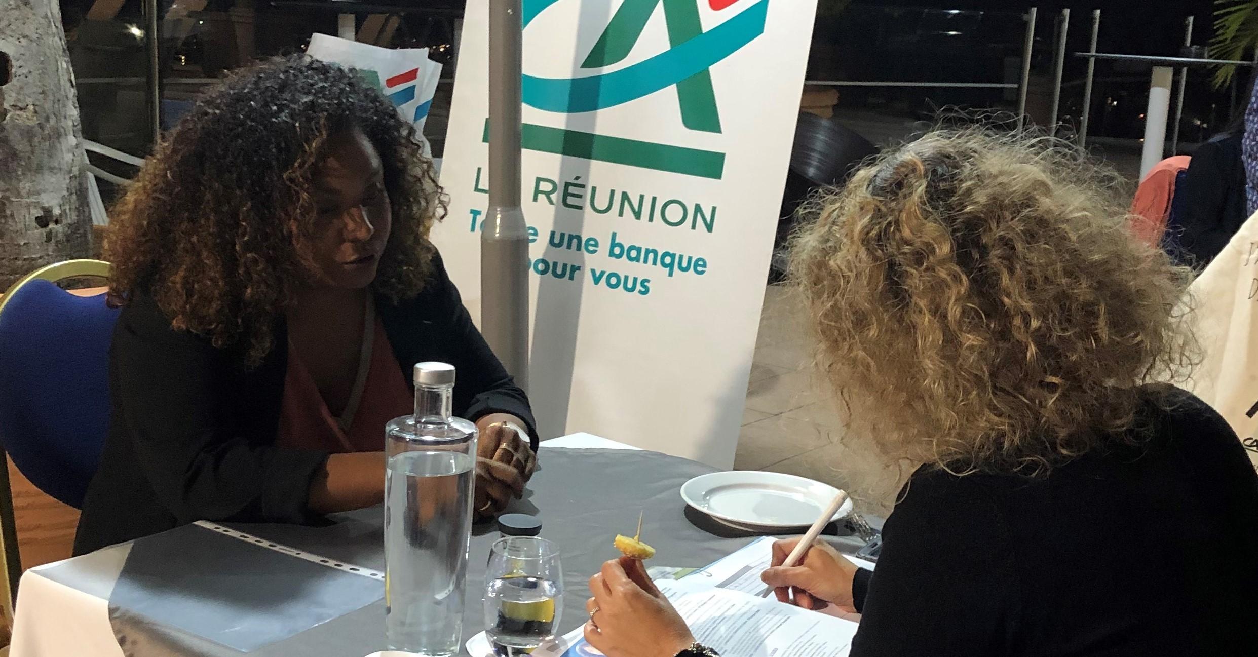 Job Dating pour l'emploi des jeunes organisé par le Crédit Agricole Mutuel de La Réunion et WIZBII le 26 octobre