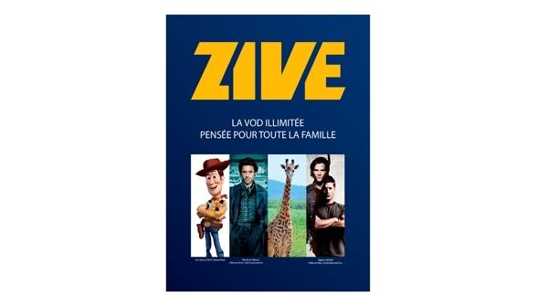 Zive, le service de vidéo à la demande par abonnement arrive chez SFR Caraïbe