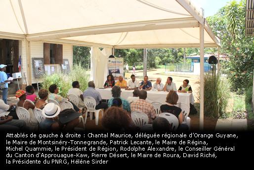 Guyane: Lancement de la téléphonie mobile sur le territoire de Kaw
