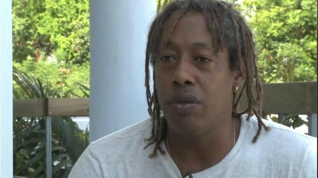 Jackson Richardson actuellement en tournage à la Réunion