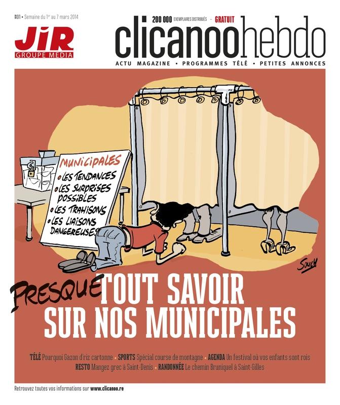 """Presse: Le groupe Média du Journal de l'île lance un nouveau magazine gratuit """"Clicanoo Hebdo"""""""