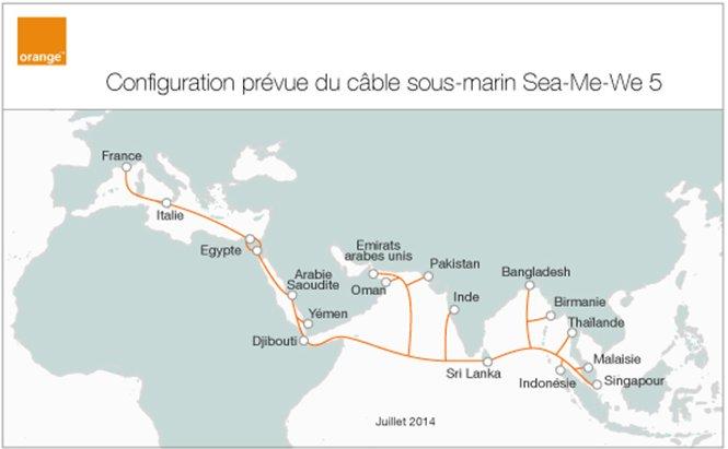 Sea-Me-We 5, le nouveau câble sous-marin pour accompagner la croissance du haut-débit à la Réunion et à Mayotte.