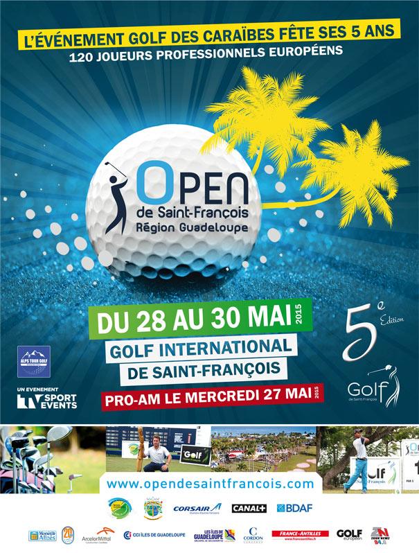 Golf: La 5e édition de l'Open de Saint-François - Région Guadeloupe sur Sport+ et sur le Canal Évènement de Canal+ Caraïbes