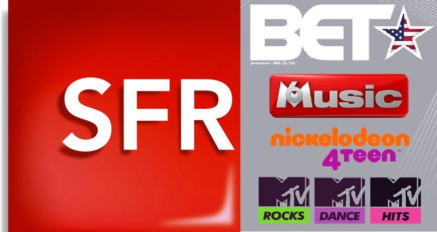 Six nouvelles chaînes thématiques débarquent sur la Box de SFR Caraïbe